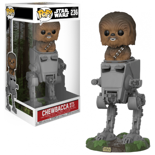 Funko Pop! Deluxe: Star Wars - Chewbacca with AT-ST