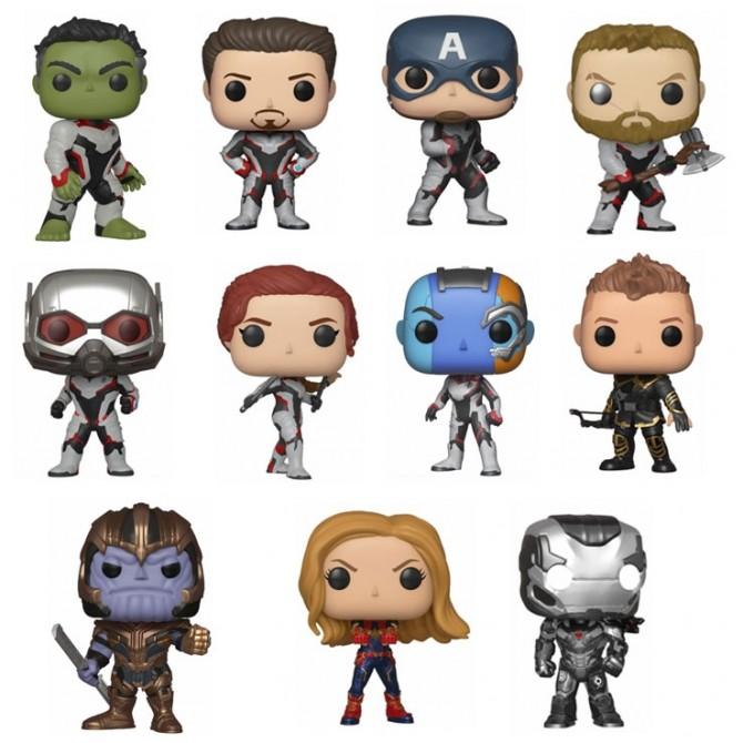 Funko Pop! Avengers: Endgame Set