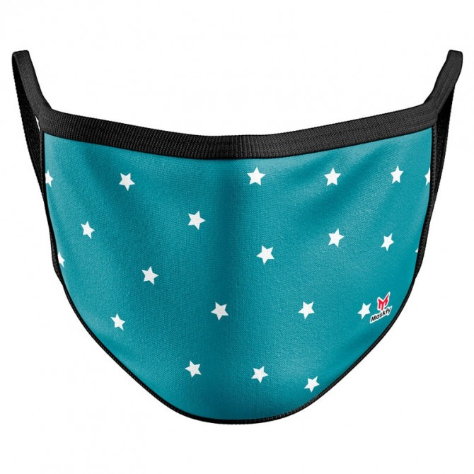 Blue Stars Reusable Face Mask Cover