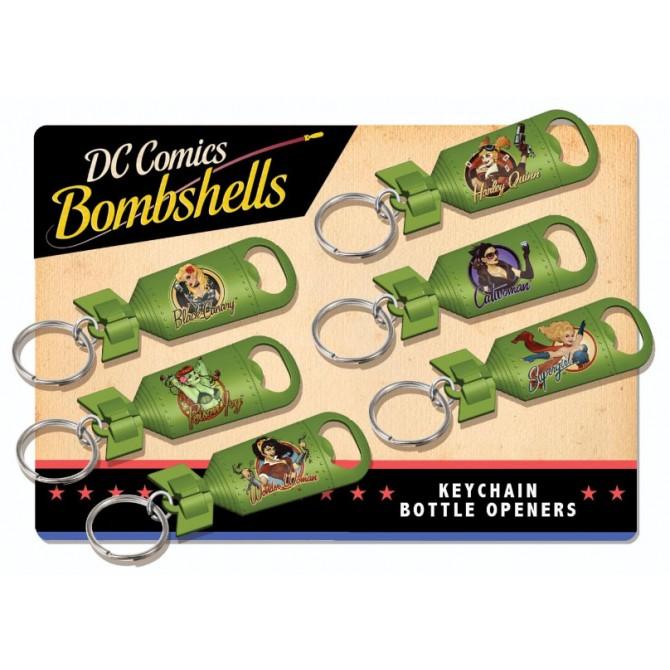 DC Comics Bombshells Keychains