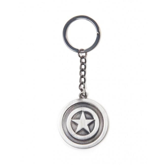 Marvel: Captain America Metal Shield sleutlenhanger