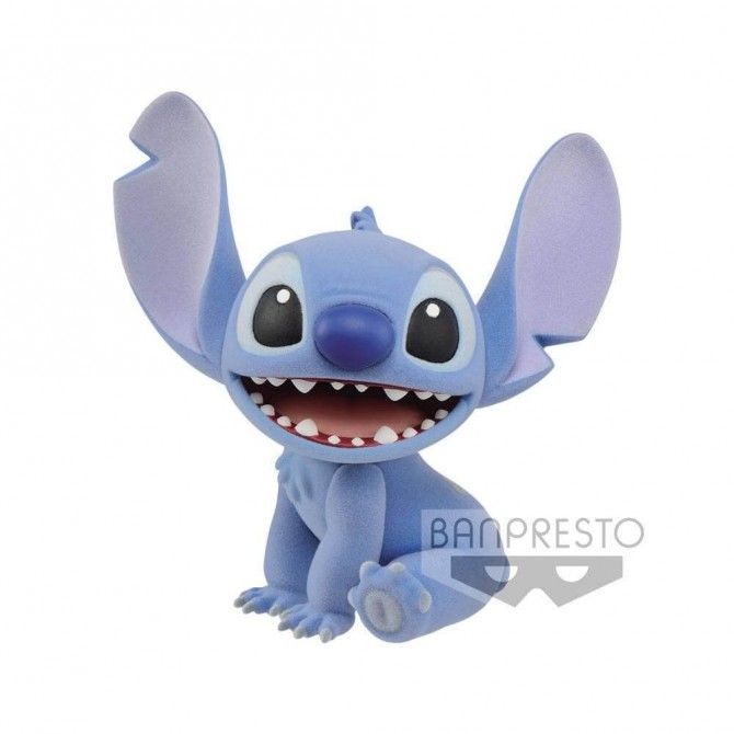 Stitch - Fluffy Puffy figure - Lilo and Stitch