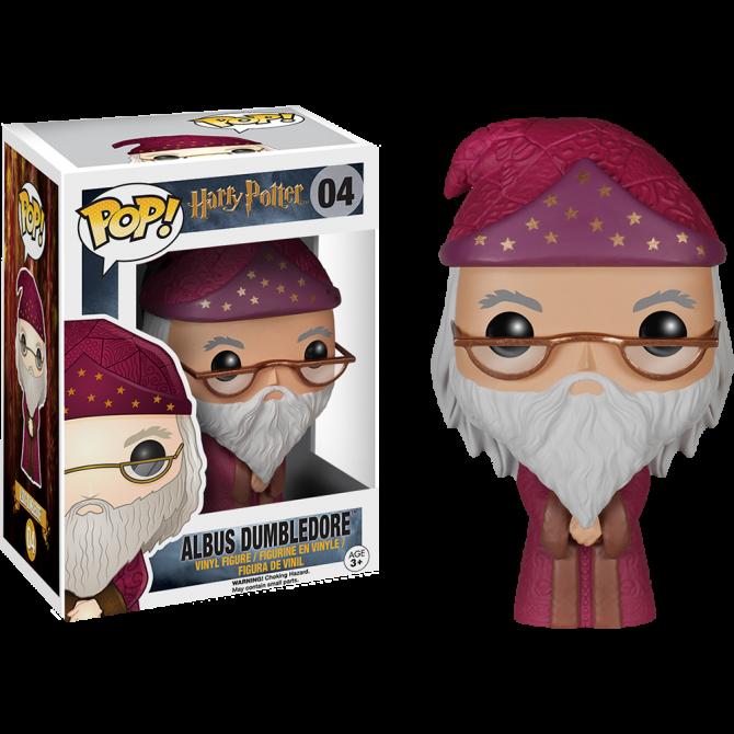 Funko Pop! Movies: Harry Potter - Albus Dumbledore [BOX DAMAGE]