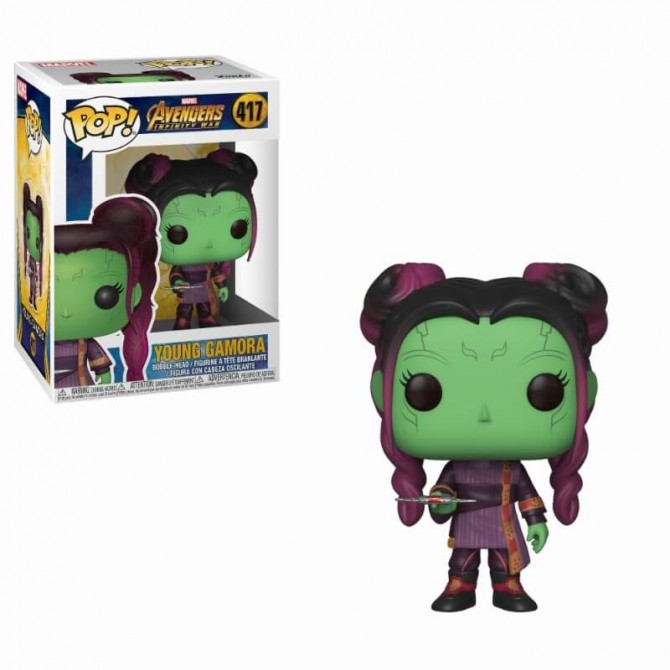Funko Pop! Avengers: Infinity War - Young Gamora with Dagger