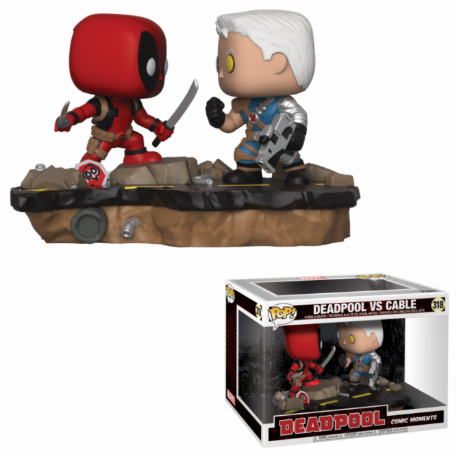 Funko Movie Moments Deadpool: Deadpool vs Cable