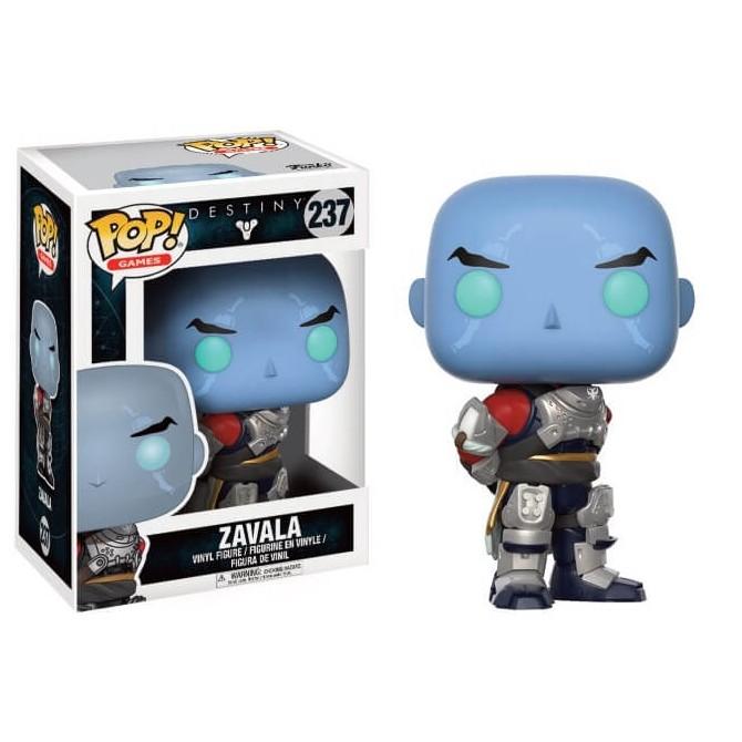 Funko Pop! Destiny - Commander Zavala box