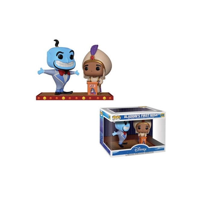 Funko Movie Moments Aladdin: Genie & Aladdin