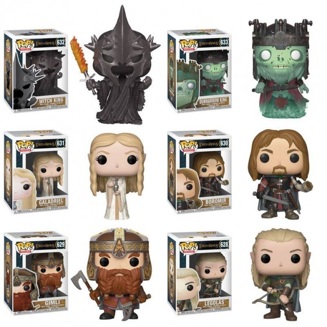 Funko Pop! Lord of The Rings Set