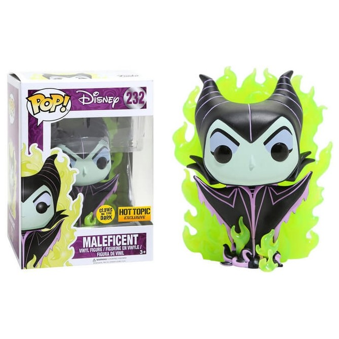 Funko Pop! Disney: Maleficent Green Flame Limited Edition Chase