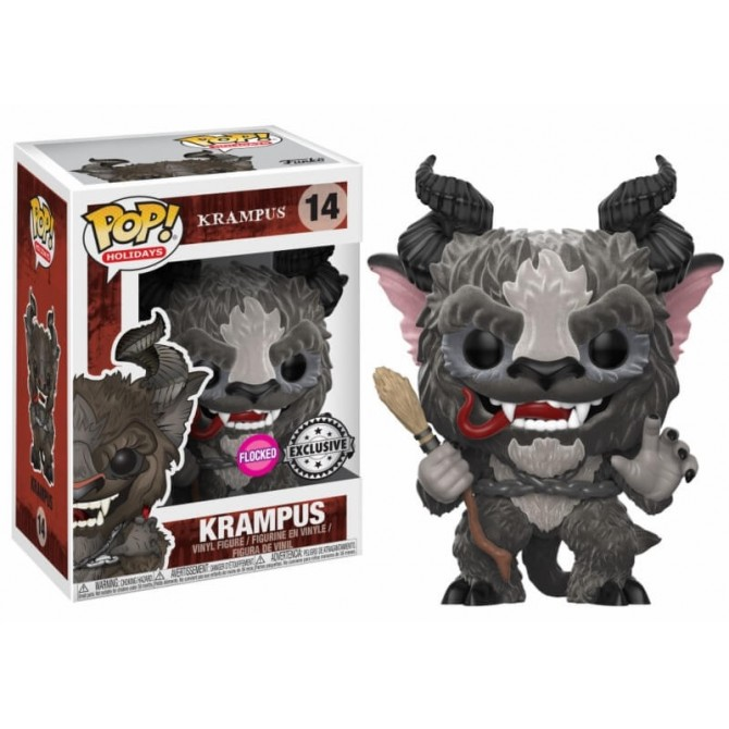 Funko Pop! Holiday: Flocked Krampus Limited Edition