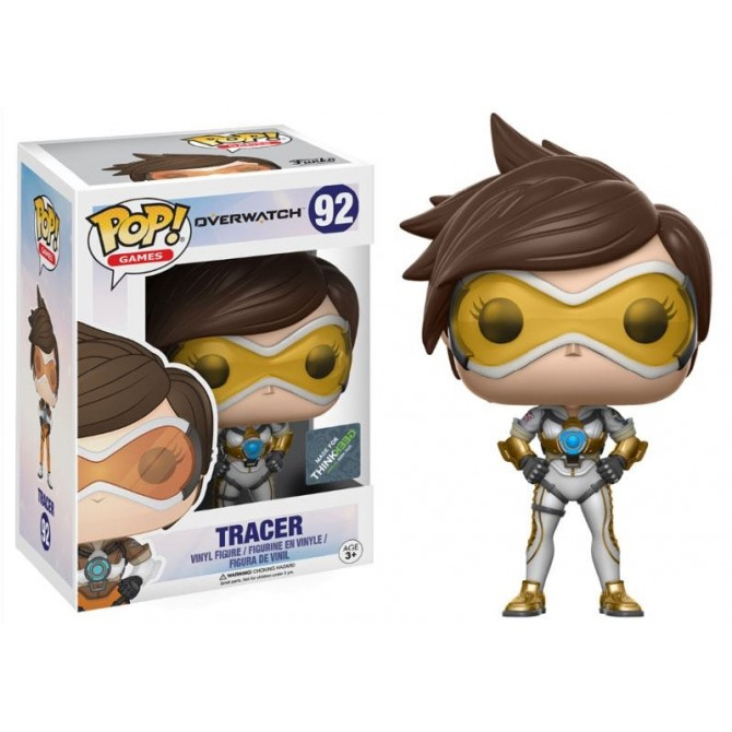 Funko Pop! Overwatch Tracer (Posh) box