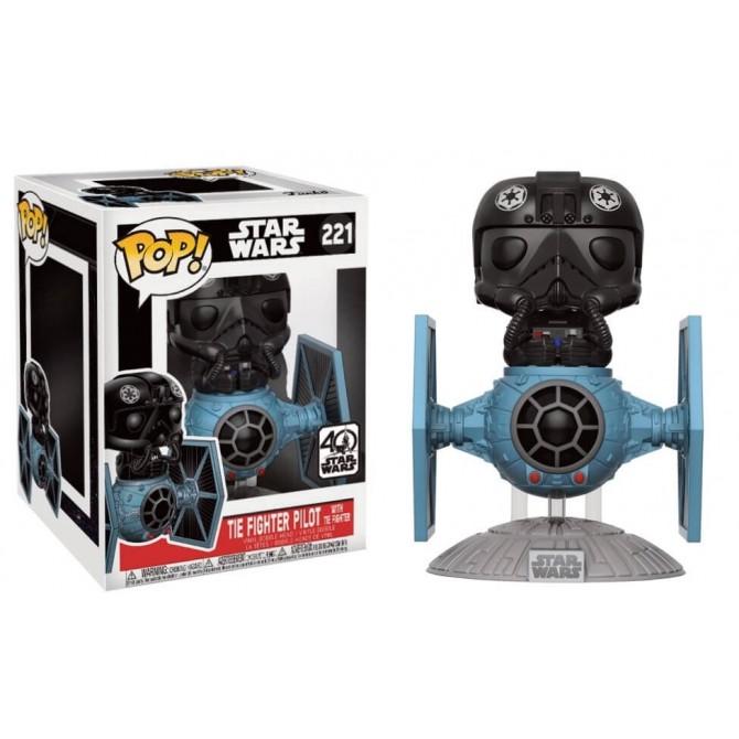 Funko Pop! Star Wars: Tie Pilot with Tie Fighter