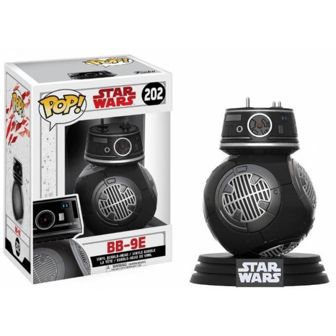 Funko Pop! Star Wars The Last Jedi - BB-9E box