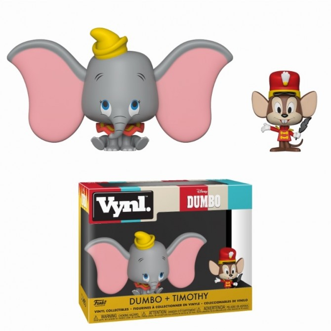 Funko VYNL: Disney Dumbo and Timothy 2-Pack