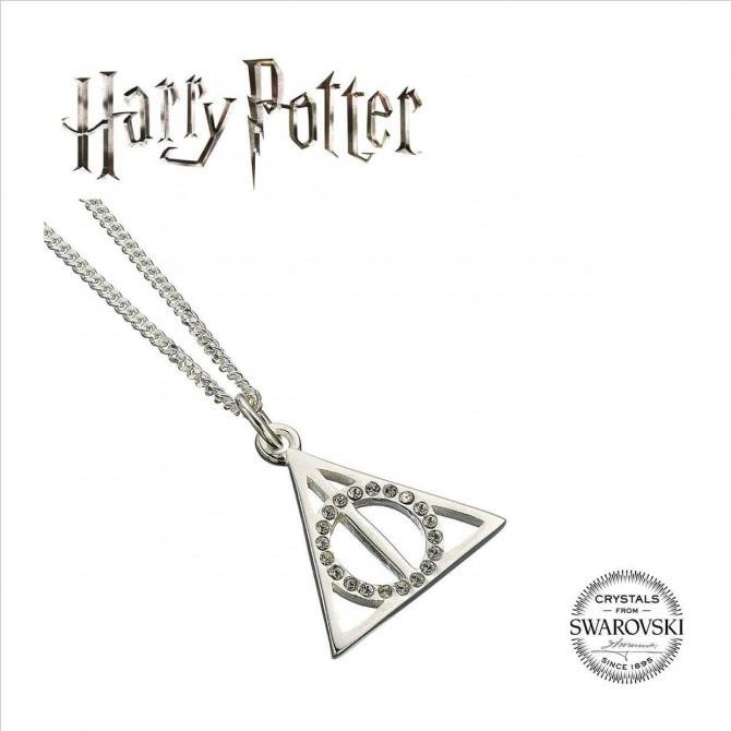 Harry Potter: Deathly Hallows Swarovksi hanger & ketting