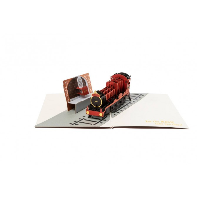 Harry Potter - Hogwarts Express 3D Pop-Up Greeting Card