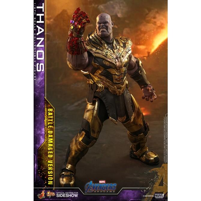 Thanos (Battle Damaged Version) 1:6 scale Figure - Avengers Endgame - Hot Toys