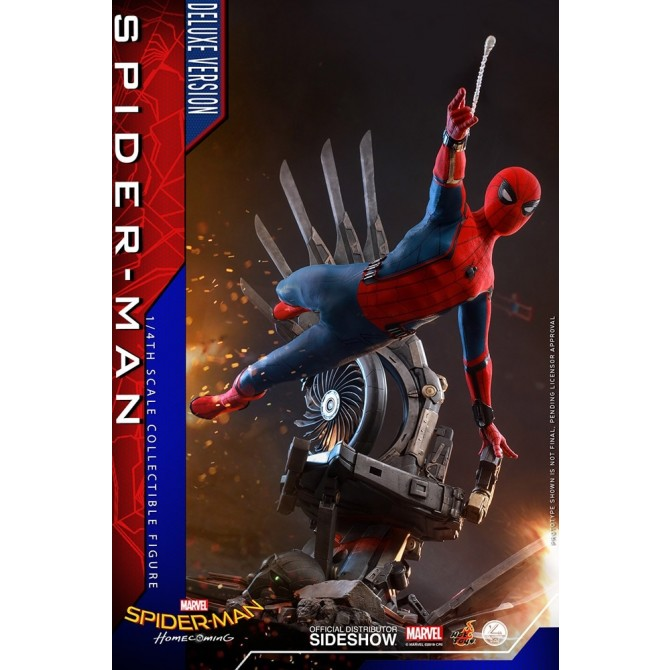 Hot Toys: Spider-Man: Homecoming - Spider-Man Deluxe 1:6 scale Figure