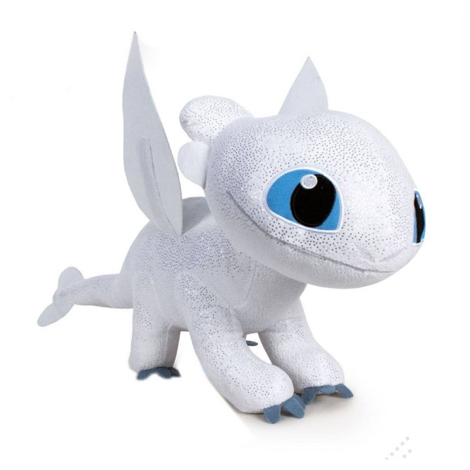 How to Train Your Dragon 3: Light Fury Plush