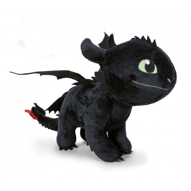 How to Train Your Dragon 3: Toothless (Night Fury) Plush