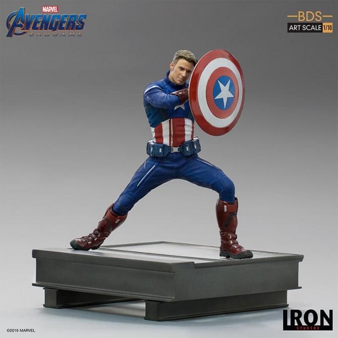 Avengers: Endgame - Captain America 2023 1/10 scale statue