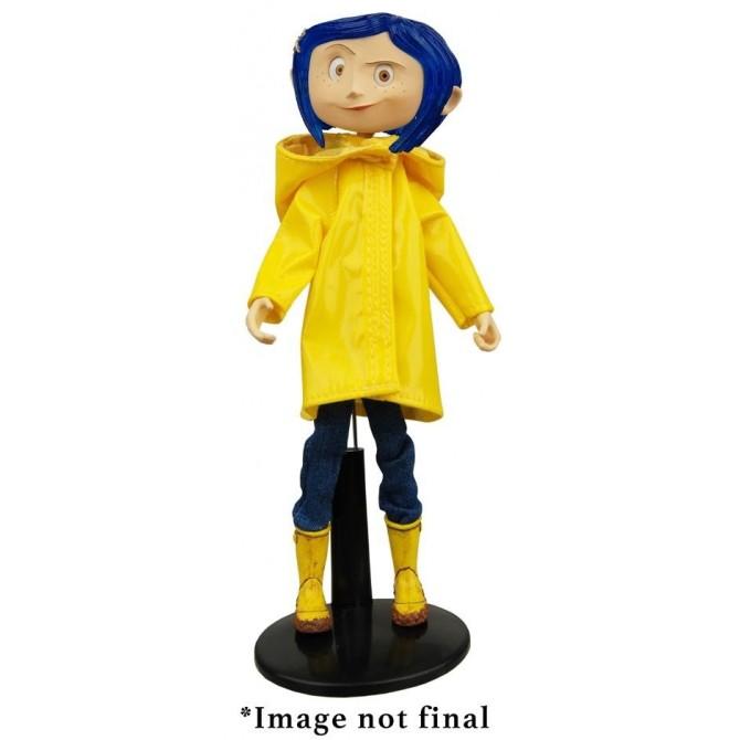 Coraline in Raincoat Action Figure