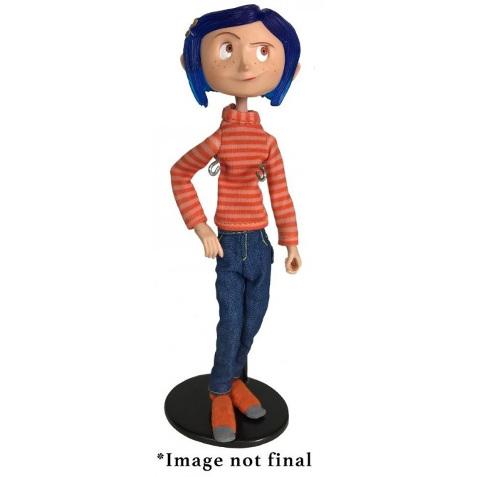 Coraline in Striped Shirt and Jeans Action Figure
