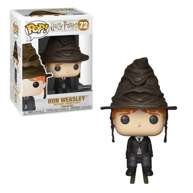 Funko Pop! Harry Potter - Ron Weasley (Sorting Hat)