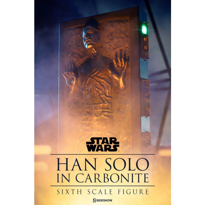 Han Solo in Carbonite 1:6 Scale Figure - Sideshow Collectibles - Star Wars