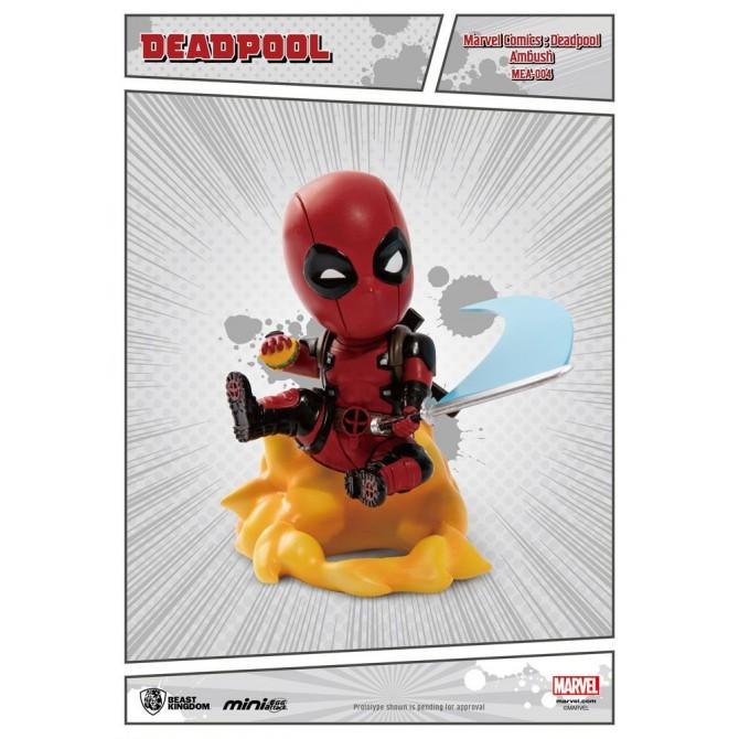 Marvel Comics - Deadepool Ambush Mini Egg Attack Action Figure