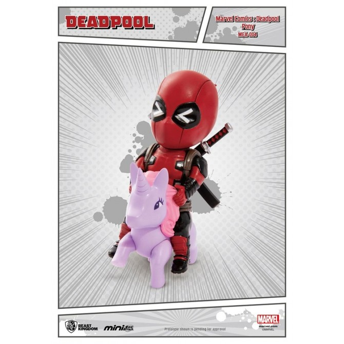 Marvel Comics - Deadepool Pony Mini Egg Attack Action Figure