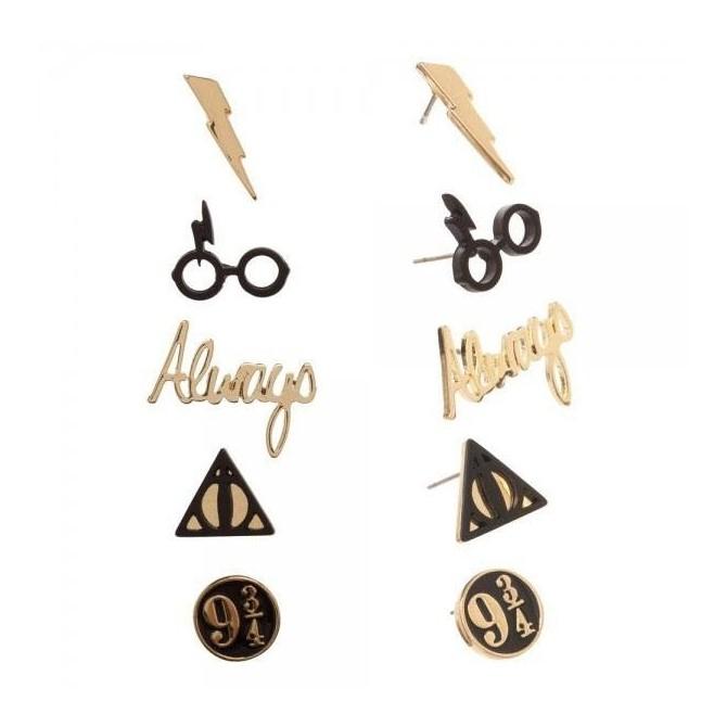 Harry Potter - symbolen oorbellen