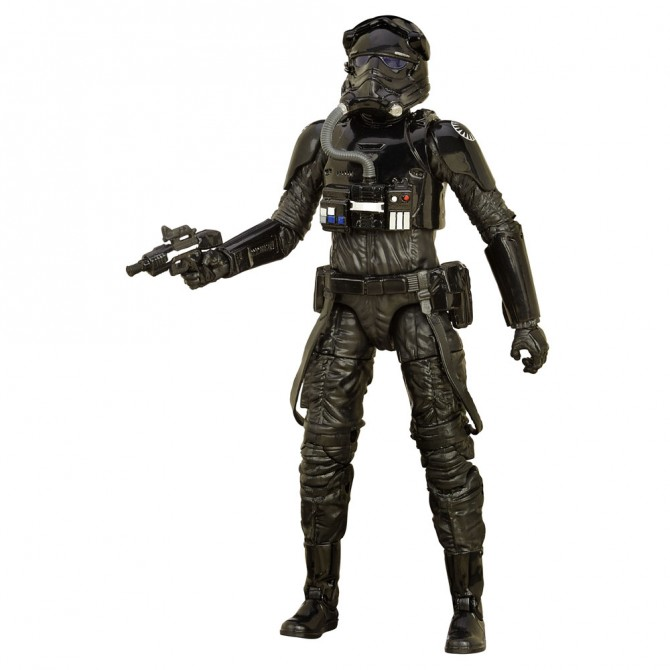 Star Wars: The Force Awakens - First Order TIE Fighter Pilot Black Series Action Figure