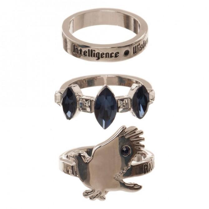 Harry Potter - Ravenclaw ringen set