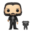 Funko Pop! John Wick - John (Black Suit) with Dog