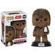 Funko Pop! Star Wars The Last Jedi - Chewbacca with Porg Flocked Limited Edition