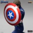Avengers: Endgame - Captain America 2023 1/10 scale statue 05