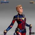 Avengers: Endgame - Captain Marvel 1/10 scale statue 07