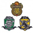 Harry Potter - Quidditch Hogwarts Deluxe Patches Set