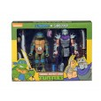 TMNT: Cartoon - Leonardo vs Shredder Action Figure 2-Pack Box Front
