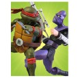 TMNT - Raphael vs Foot Solider Action Figure 2-Pack