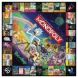 Rick & Morty Monopoly detail 1