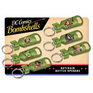 DC Comics: Bombshells - Poison Ivy Keychain Bottle Opener