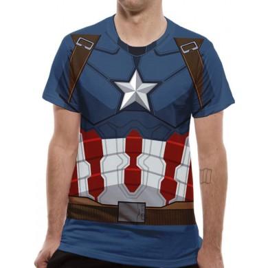 Captain America: Civil War - Captain America Suit Costume T-Shirt