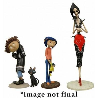 Coraline: figurine set 4-pack