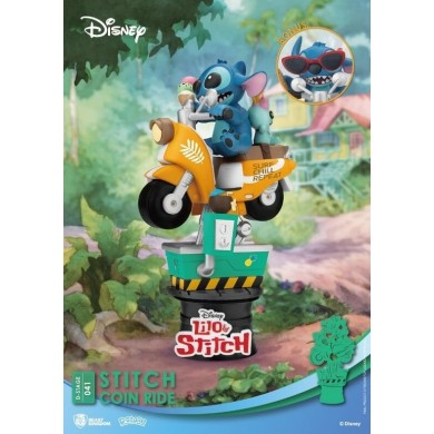 Disney Select: Lilo and Stitch - Stitch Coin Ride Diorama