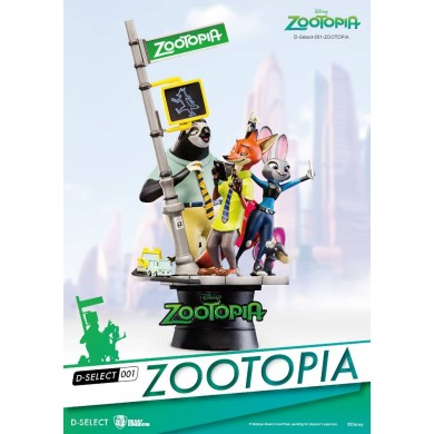 Disney Select: Zootopia Diorama