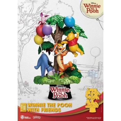 Disney Select: Winnie the Pooh - Winnie the Pooh with Friends Diorama