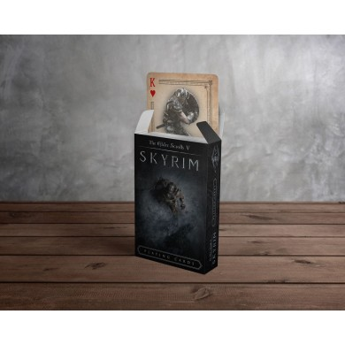 Elder Scrolls V Skyrim - Playing Cards
