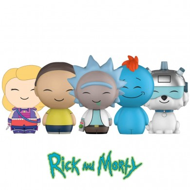 Funko Dorbz: Rick and Morty Set